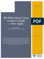 The White House Caves to Syria's Assads - Once Again