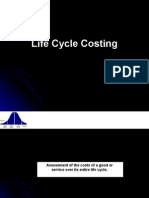 Cost Reduction-Life Cycle Costing