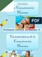 Características Comunicación