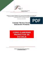 Cons Tec Pro y Ect Escuela Prim