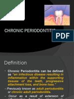 periodontitis chronic