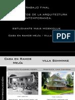 Análisis Casas Argentinas.Volúmen 1