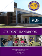 MSD Student Handbook - Updated 2016