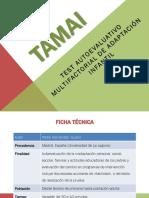 (TAMAI) Test Autoevaluativo Multifactorial de Adaptación Infantil (1)