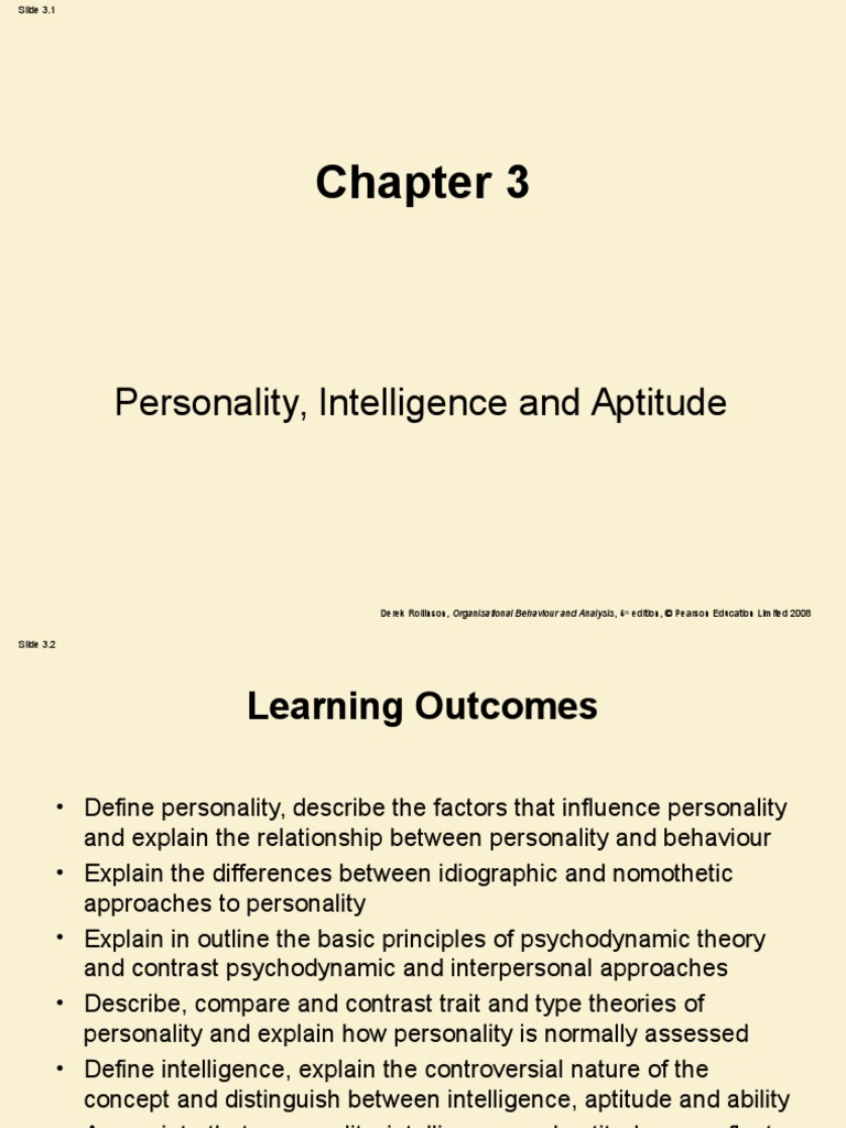 nomothetic and idiographic approaches to personality