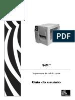 Manual Impressora Zebra S4M