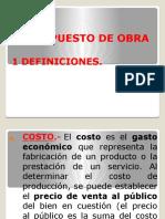 8PRESUPUESTO DE OBRA ...HUGO HOLGADO CHUNCA.pptx