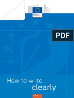 EC 2016 - How to Write Clearly