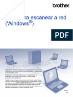 Guía Para Escanear a Red (Windows )