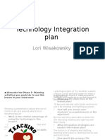 technology integration plan powerpoint