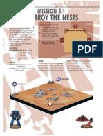 Macragge Mission 8 (Destroy the Nests)