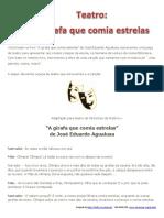 Conto Agualusa Girafa-comia-estrelas Teatro