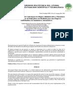 Diseño de Un Sistema de Control Para La Mejora Administrativa y Financiera a Través Del Análisis de Indicadores de Medición Empresa Dist_Sum_Automotrices