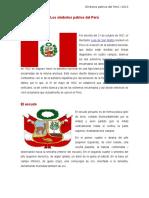 Los Símbolos Patrios Del Perú- HM