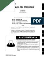 Manual de Operador RT890E