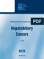 Cancer Hepatobiliar 2007