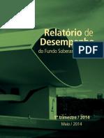 Relatorio Desempenho FSB 1 Trimestre 2014