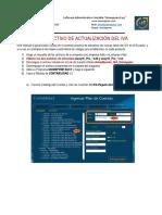 Instructivo de Actualización Del Iva en el software administrativo contable Niif Unionpyme Easy