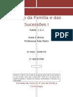 Aulas Práticas Direito Da Familia e Sucessoes