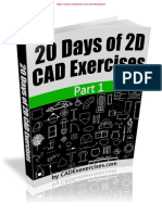 20 Days of 2d Cad Exercises Final