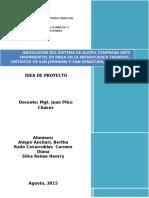 Idea Proyecto Componloente Comunicativo