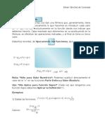 Valor Numérico de una función