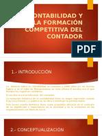 La Contabilidad y La Formacion Competitiva Del Contador