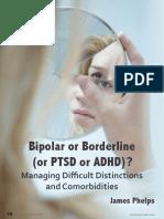 Bipolar or Borderline (or PTSD or ADHD)?