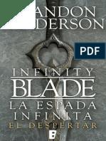(La Espada Infinita 1) La Espada Infinita - Sanderson, Brandon