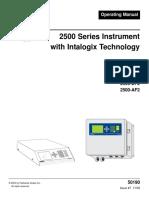 2500 Series Instrument w Intalogix Tech