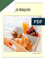 desayunos ricos y variados