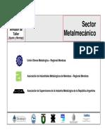 Sector Metalmecanico Armador de Taller