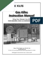 Gas kiln manual