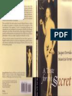 Derrida, J., A Taste for the Secret.pdf