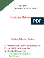4. Nonideal Behavior