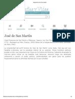 Biografia de José de San Martín