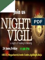 Good News Night Vigil