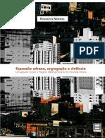 Livro Edufes Expansão Urbana Segregacao e Violencia Um Estudo Sobre a Regiao Metropolitana Da Grande Vitoria