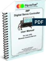 Sig-naTrak® IMP Digital Servo Controller User Manual