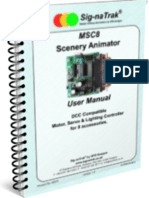 Sig-naTrak® MSC8 Scenery Animator User Manual