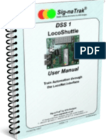 Sig-naTrak® DSS1 LocoShuttle User Manual