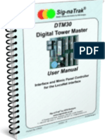 Sig-naTrak® DTM30 Digital Tower Master User Manual