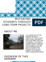 Motivating Students Through Long-term Projects Clean