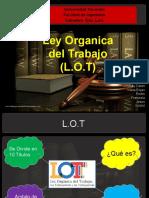 LEY ORGANICA DEL TRABAJO (LOT)