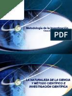 Metodología de la Investigación, Ciencia (Conocimiento Científico).