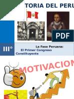 15 Primer Congreso Constituyente Peruano
