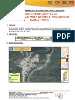 Vientos Fuertes Afectan Al Distrito de San Pedro de Putina -Provincia de Sandia –Puno