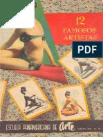Escuela Panamericana de Arte - 12 Famosos Artistas (Parte 01)