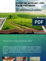Maestría en Desarrollo Rural 2015