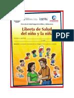 Libreta de Salud Del Niño y La Niña Paraguay